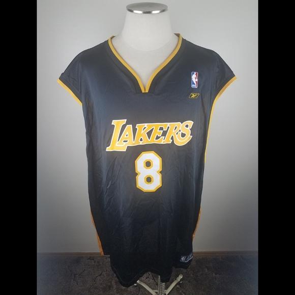 Reebok Shirts | Kobe Bryant 8 La Lakers Mamba Reebok Jersey 4xl ...